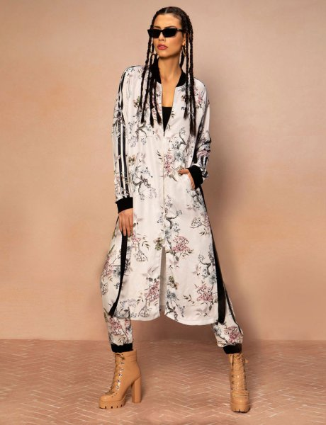 Sakura long jacket