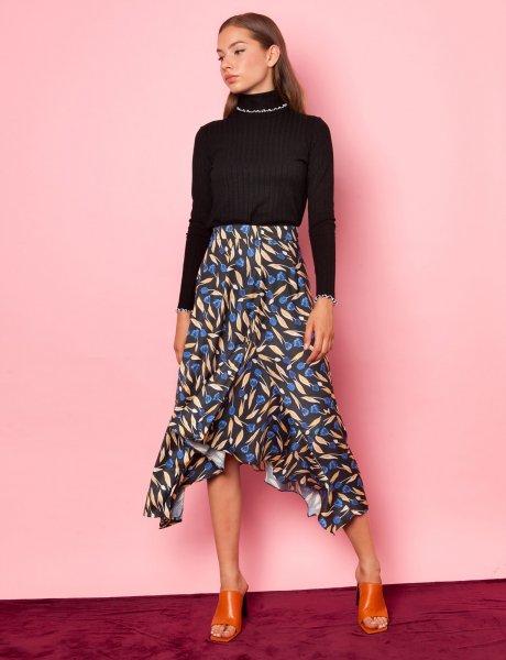 Kiss me floral skirt