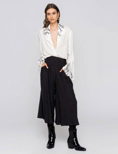 Zip culotte