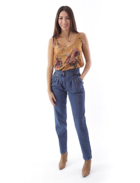 Christina studded trousers