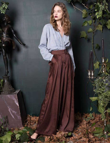Ciel de gaum brown trousers