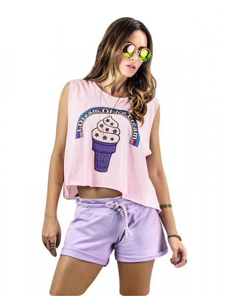 Lilac dreams shorts