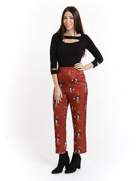 Ostrich pants