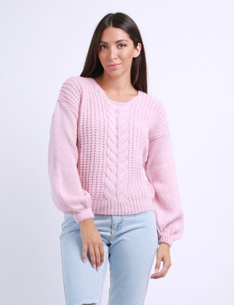 Combos F41 -  Pink sweater