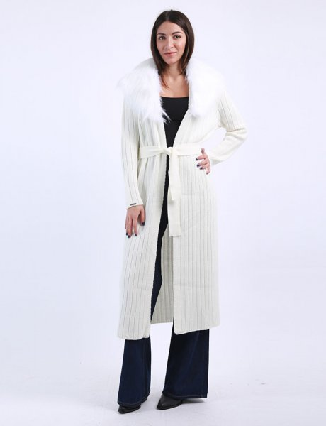 Combos F62 - White cardigan