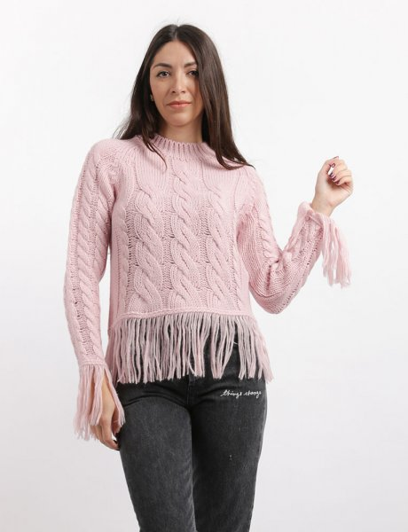 Combos F49 - Pink sweater