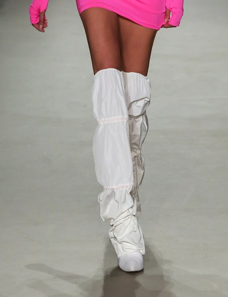 Off white legs
