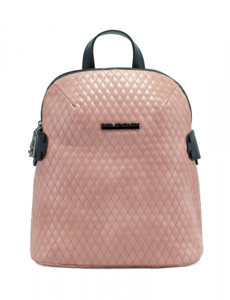 Biker pink backpack