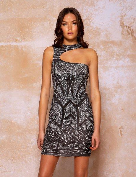 Oracle mini dress