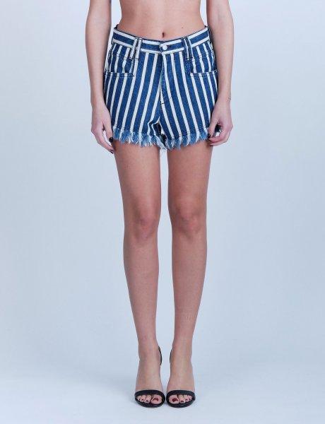 Sienna marine denim shorts