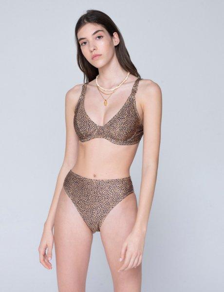 Vanessa bikini croco