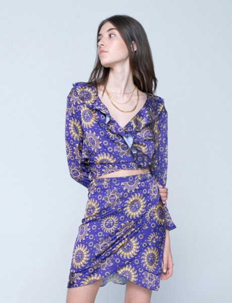 Aria skirt sun purple
