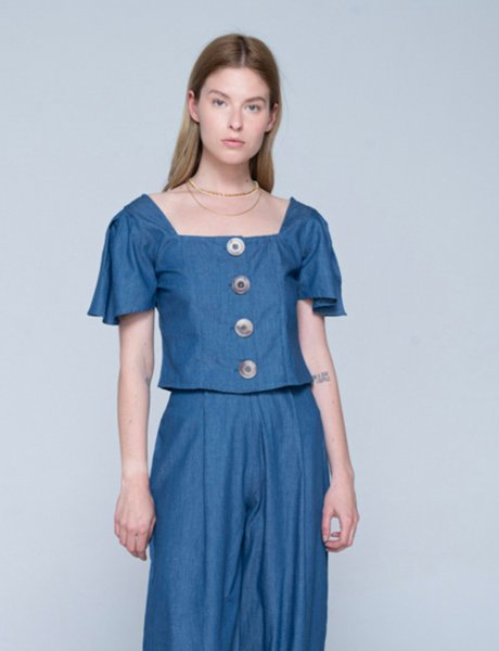 Amina shirt blue