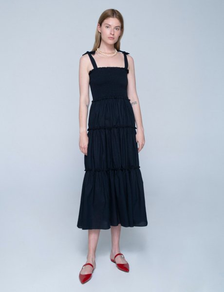 Isabella dress black