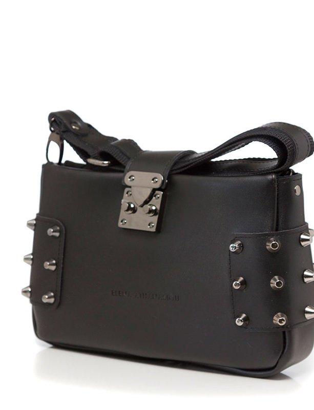 City lady clutch black bag