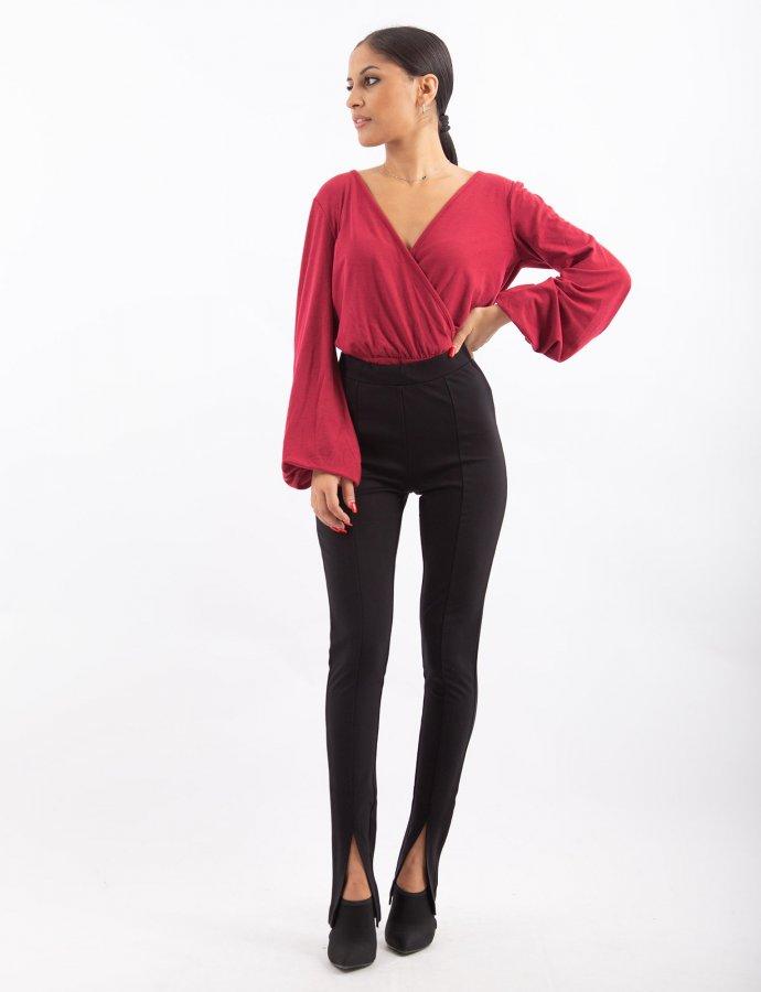 Jersey pants black
