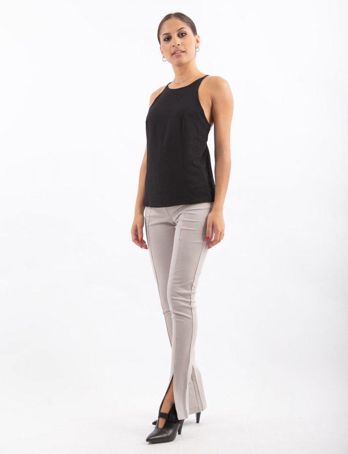 Jersey pants grey