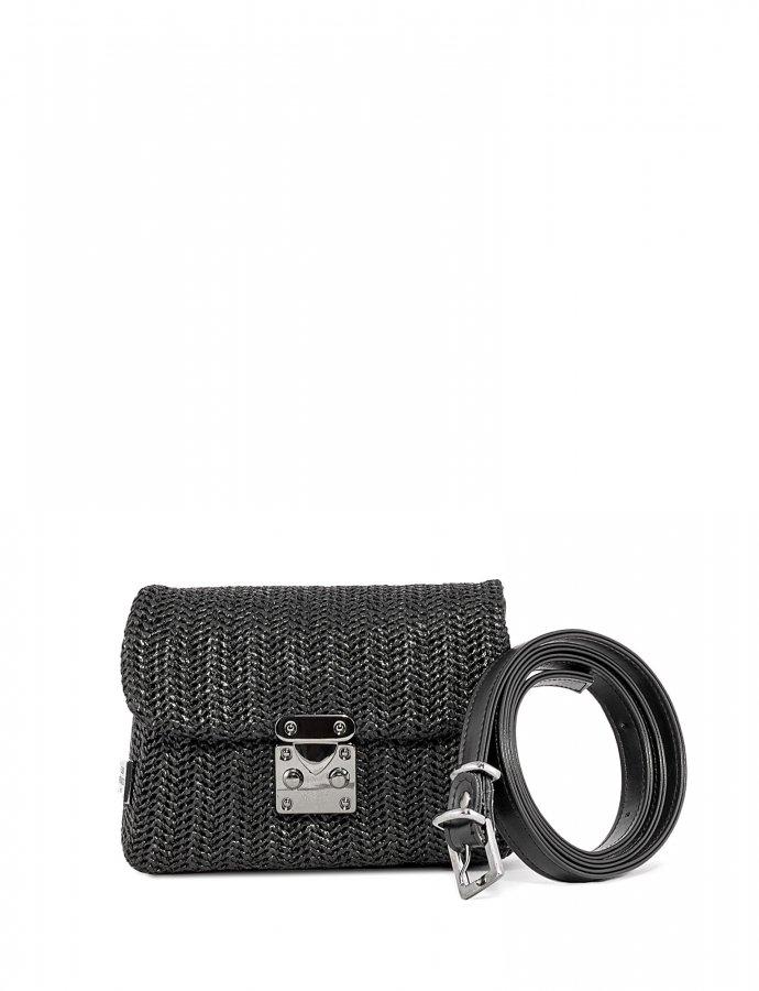 Safari belt bag black