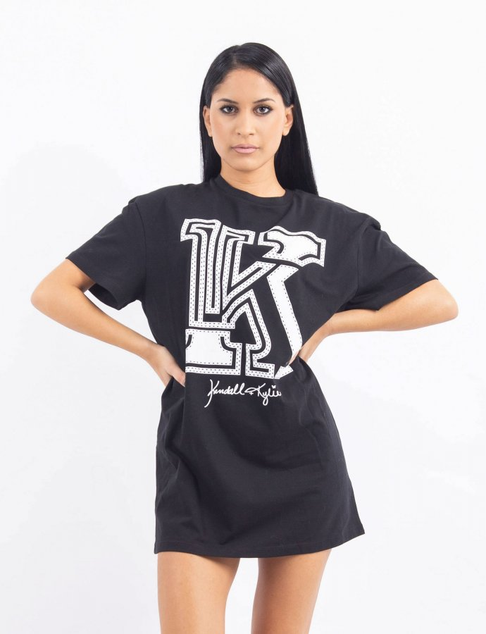 KK black oversized t-shirt