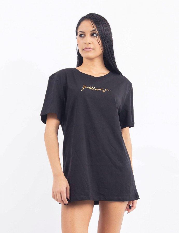 Gold print t-shirt
