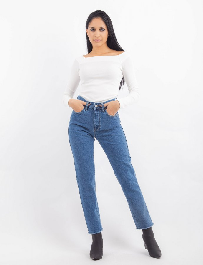 Joan S/W stars denim pants