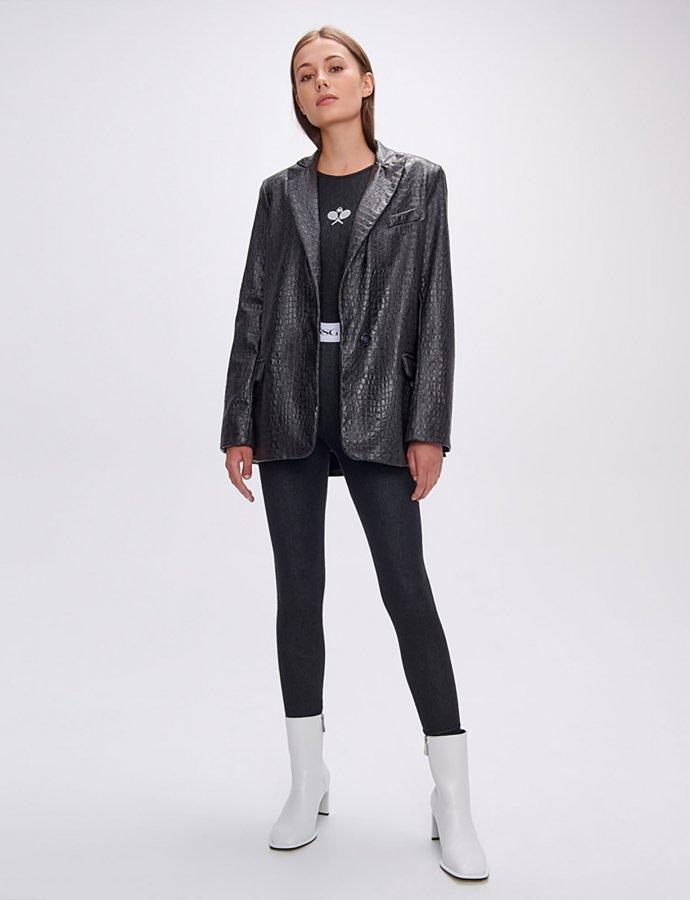 Camille croco jacket