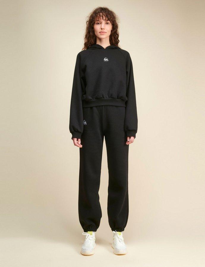 Nadine SSG black track pants