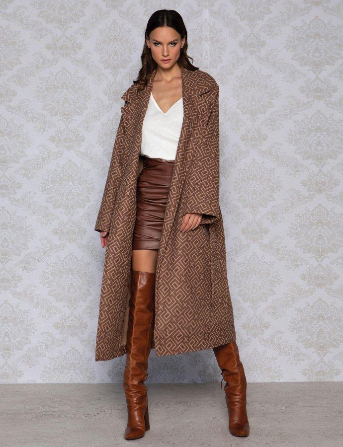P&C pattern coat