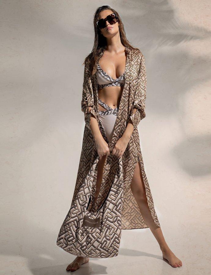 P&C pattern kimono