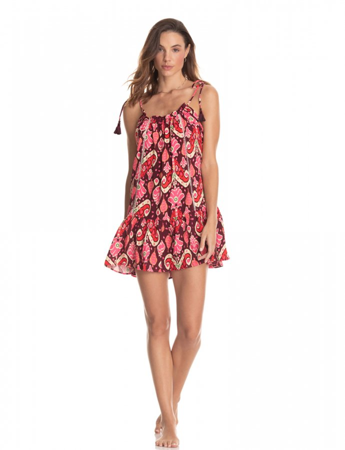 Magnolia totem short dress