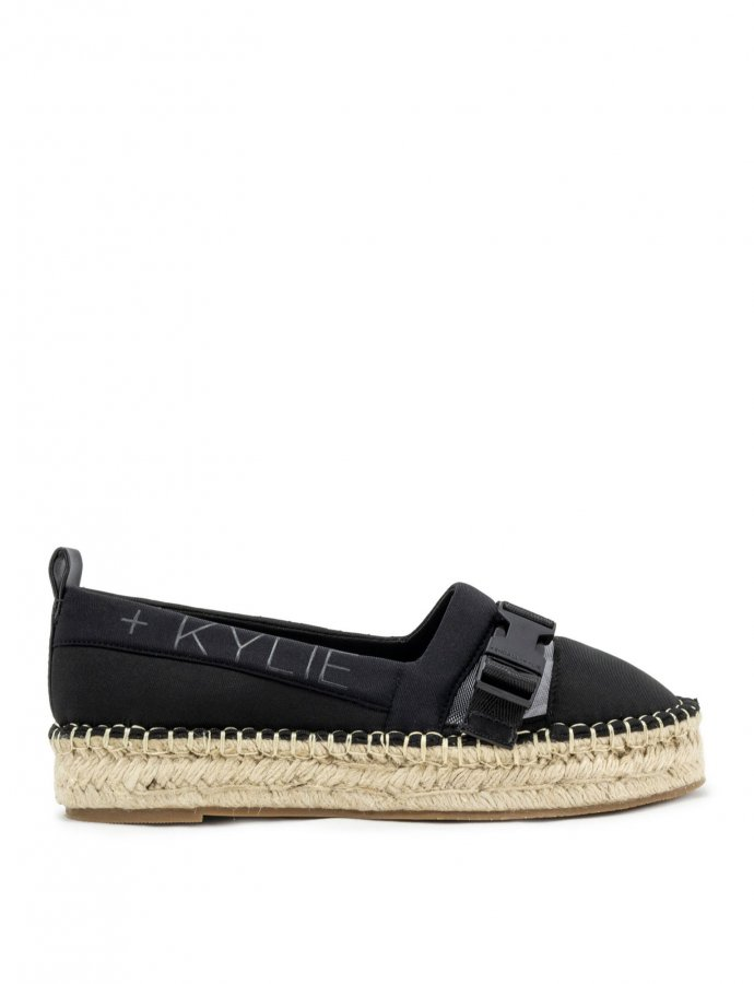 Espa black clear espadrille