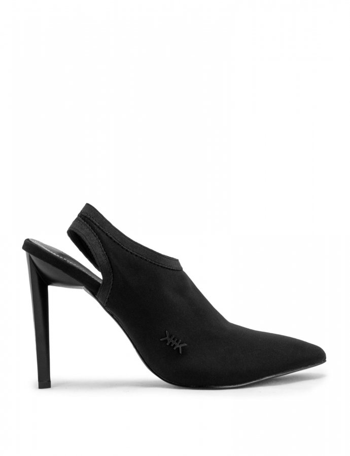 Olly black slingbacks