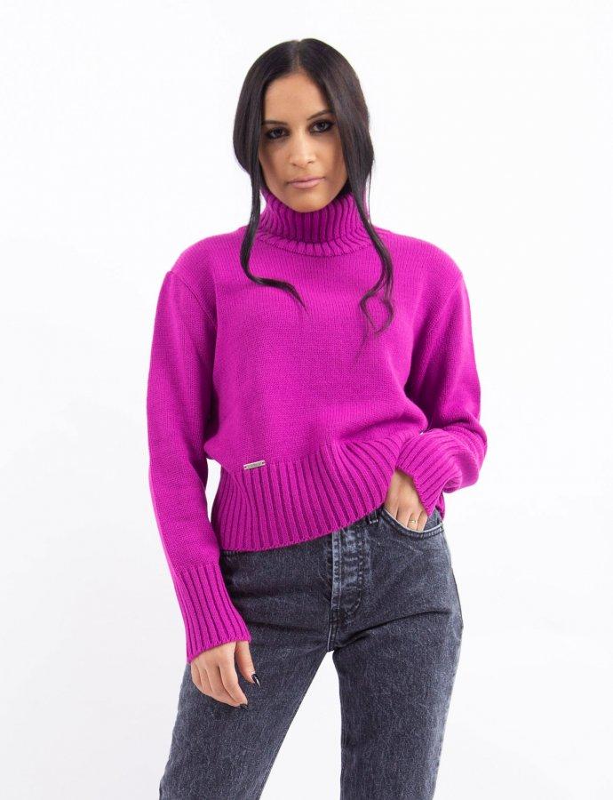Combos W2 – Purple turtleneck top