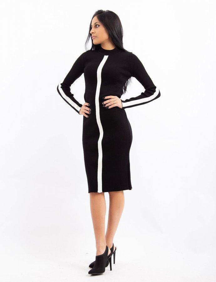 Combos W39 – White stripe dress