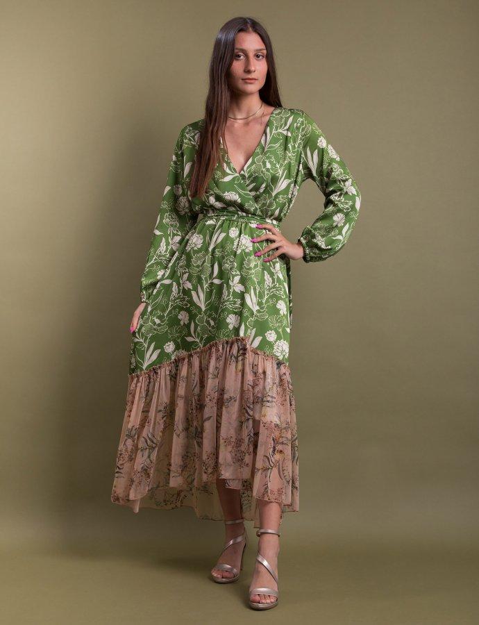 Milcham kimono green