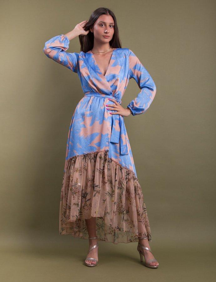 Milcham kimono blue