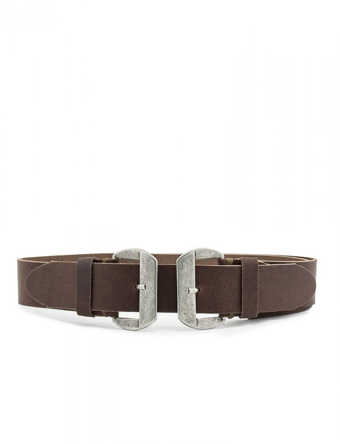 Closer belt brown