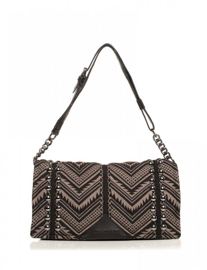 Indie chain pillow bag mocha