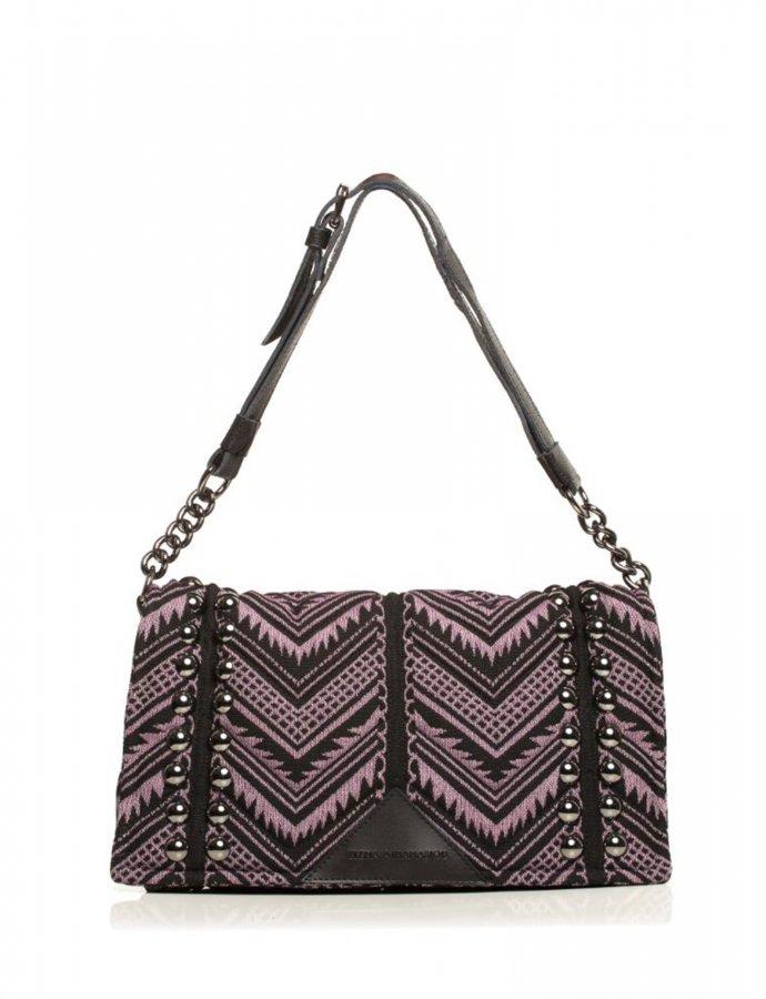 Indie chain pillow bag acai