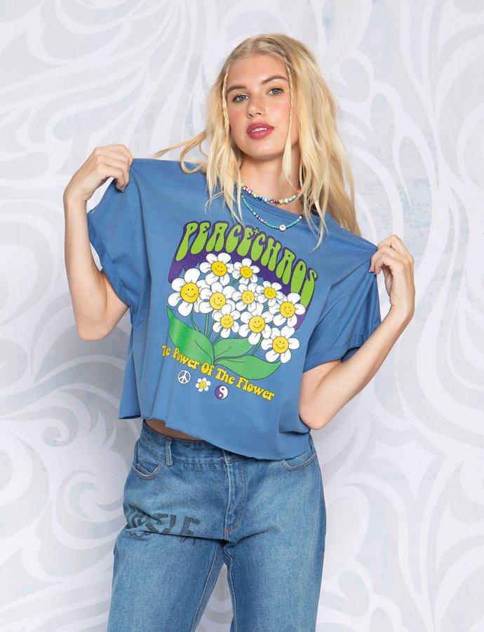 Power of the flower t-shirt