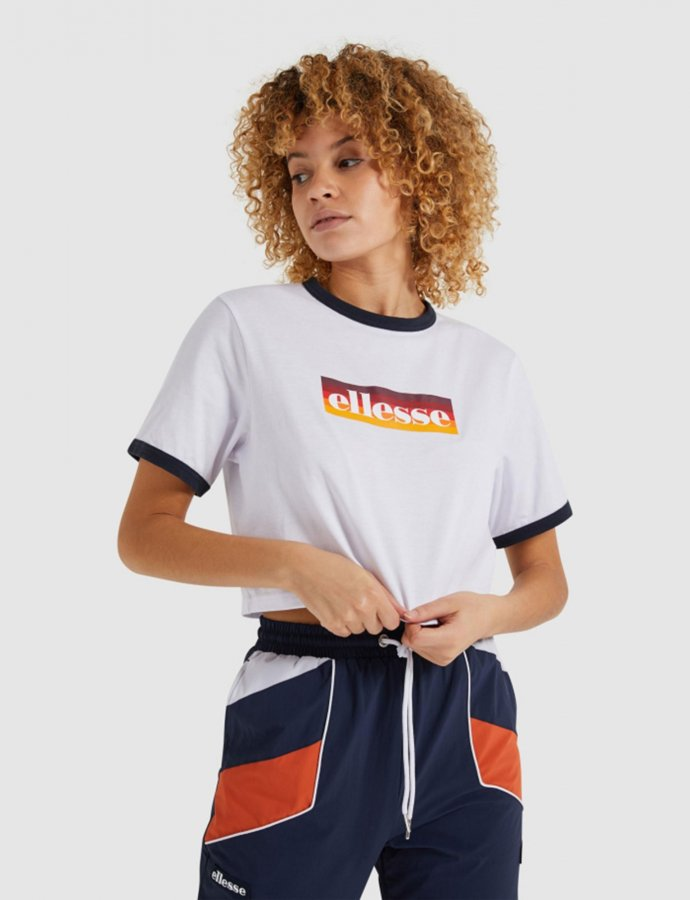 Filide crop t-shirt white
