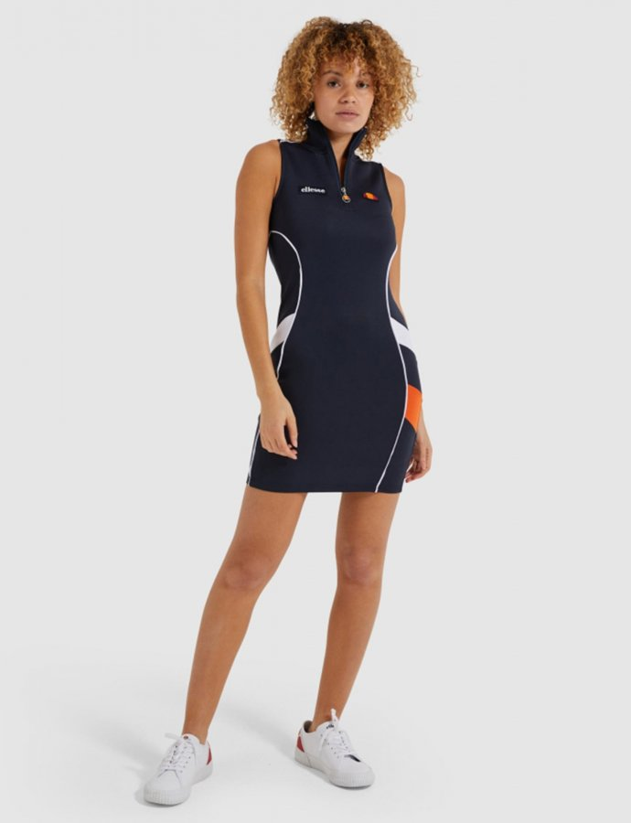 Track dress navy