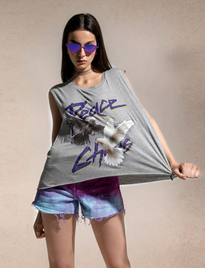 When doves cry tank top