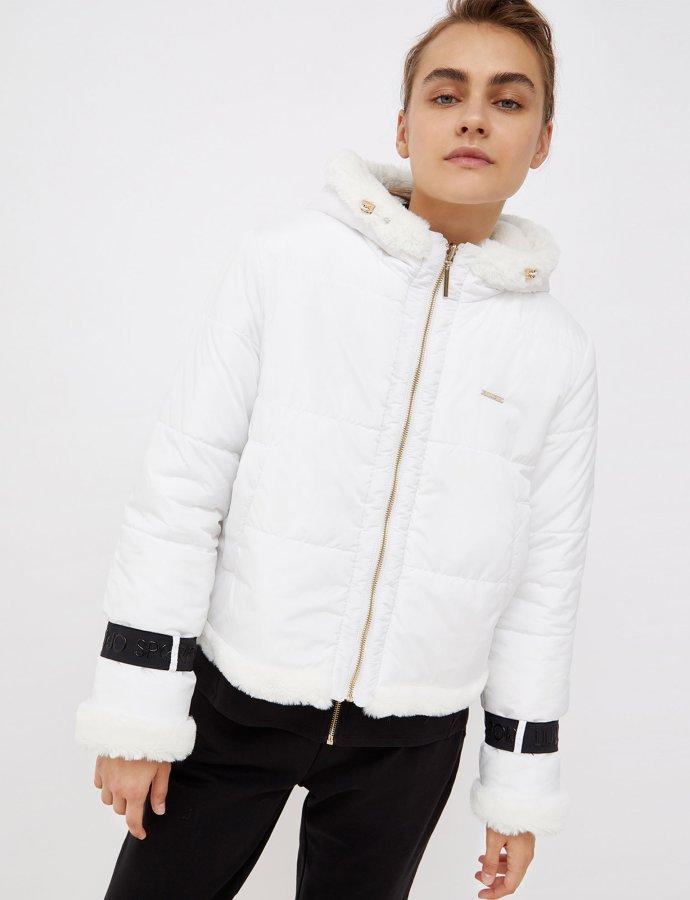 Reversible jacket snow white