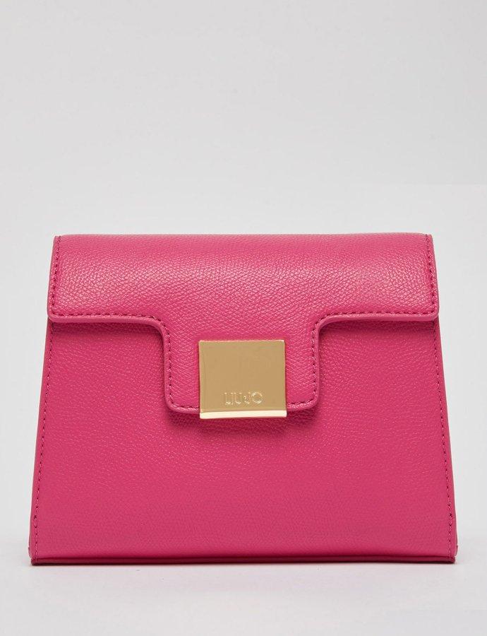 Eco-friendly crossbody bag fuxia royal