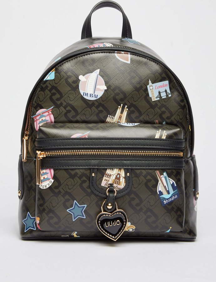 Eco-friendly backpack travel/black