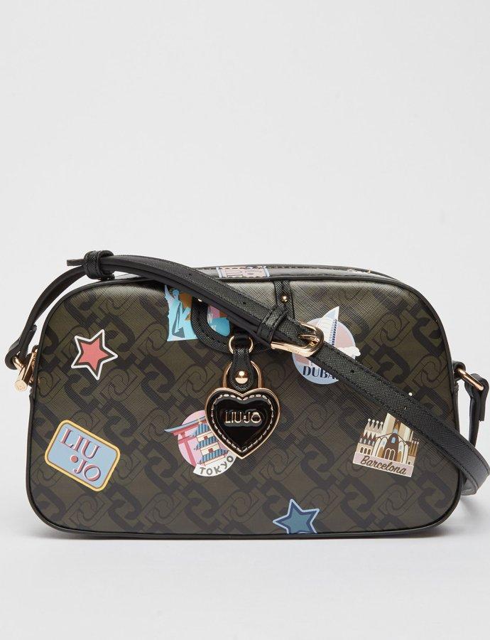 Eco-friendly crossbody bag travel/black