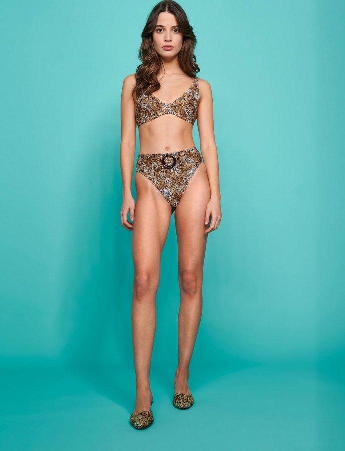 Valeria bikini animal print