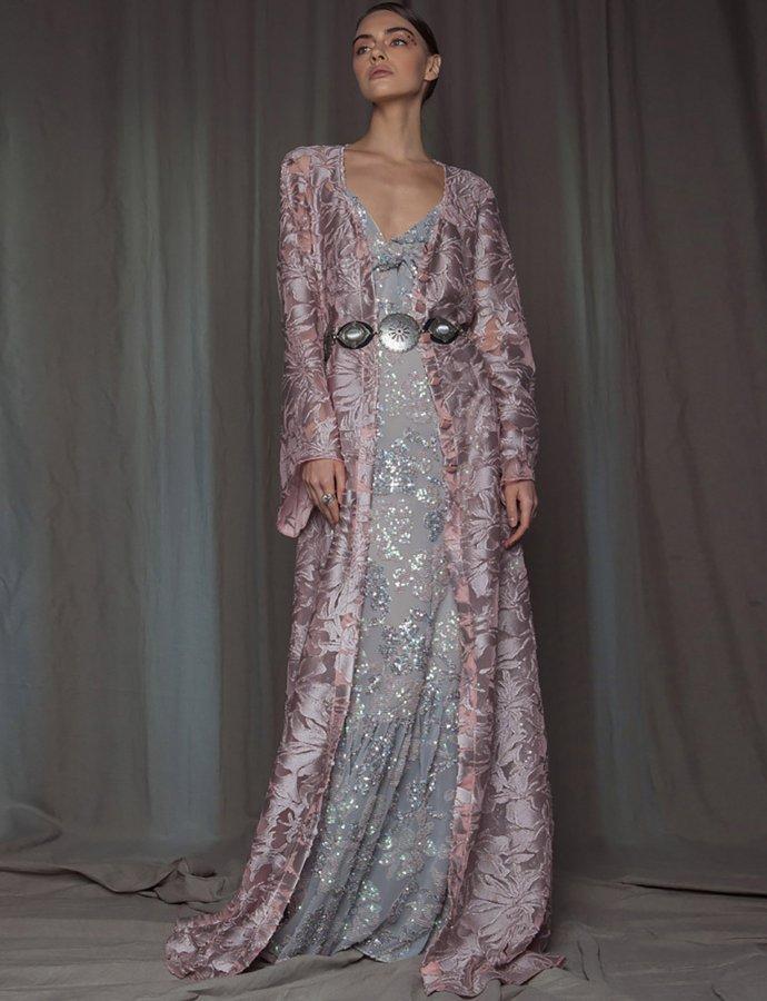 Apatite kimono dress