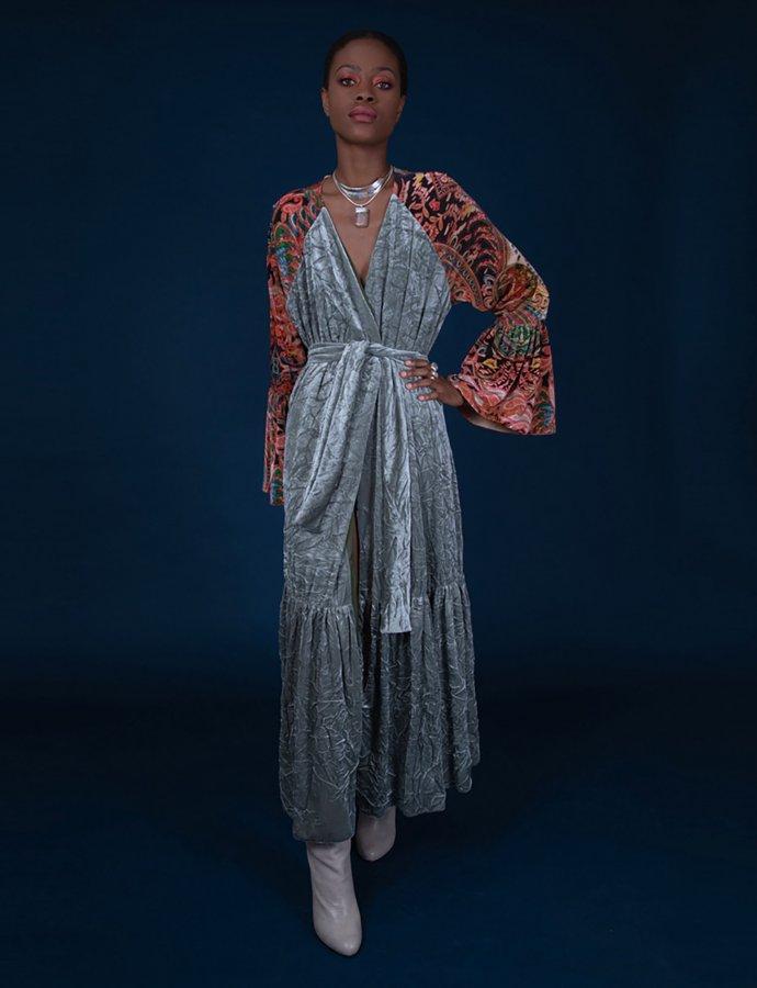 Benicio kimono dress